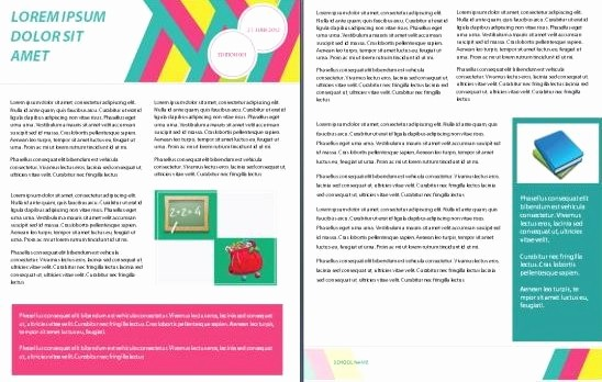 Microsoft Word Newsletter Template Free Luxury 15 Free Microsoft Word Newsletter Templates for Teachers