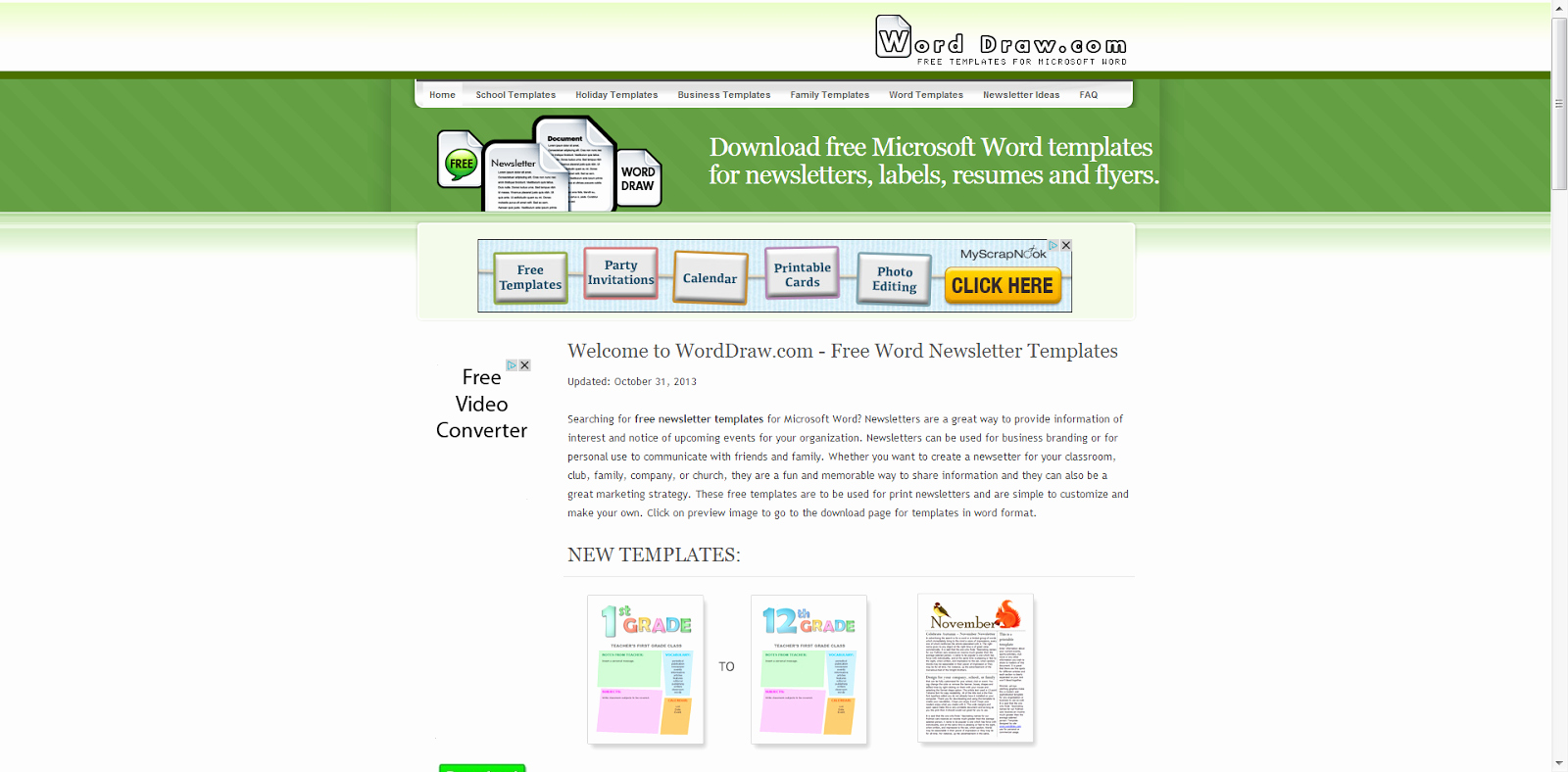 Microsoft Word Newsletter Templates Free Best Of Learning Never Stops 8 Free Websites to Create Cool
