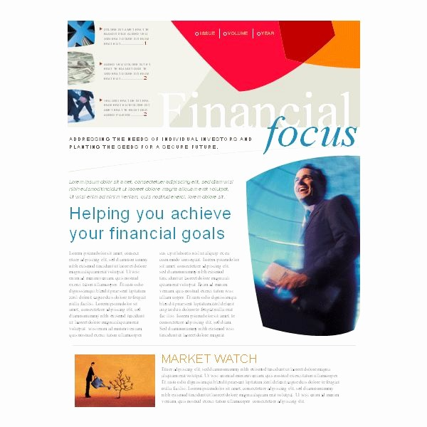 Microsoft Word Newsletter Templates Free Elegant Microsoft Word Newsletter Templates