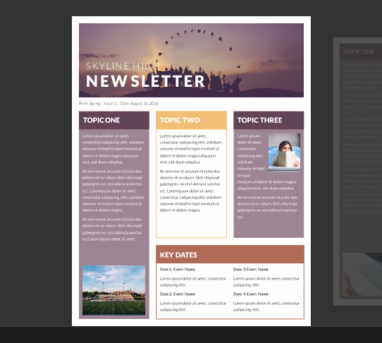 Microsoft Word Newsletter Templates Free Luxury 15 Free Microsoft Word Newsletter Templates for Teachers