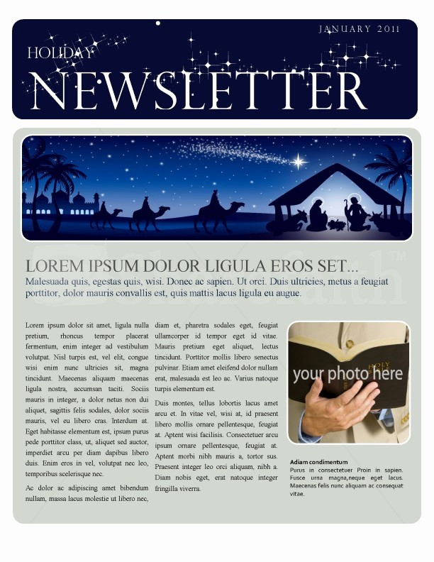 Microsoft Word Newsletter Templates Free New Christmas Newsletter Template Template