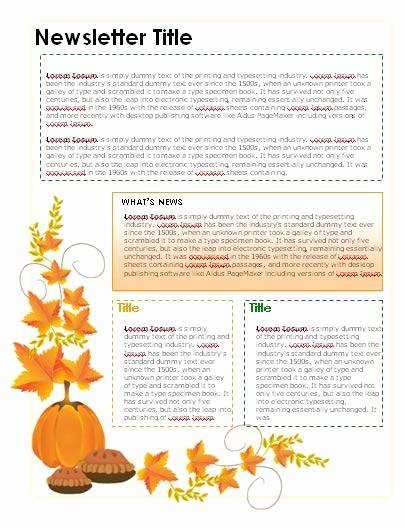 Microsoft Word Newsletter Templates Free Unique Free Teacher Newsletter Templates Downloads