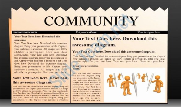 Microsoft Word Newspaper Article Template Best Of 14 Powerpoint Newspaper Templates Free Sample Example