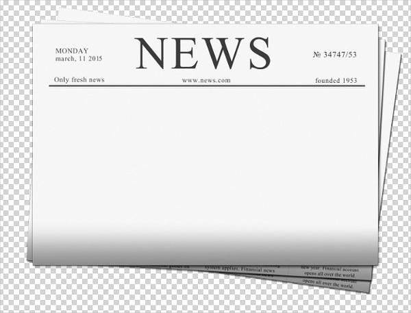 Microsoft Word Newspaper Article Template Inspirational 5 Student Newspaper Templates Word Pdf Psd Indesign