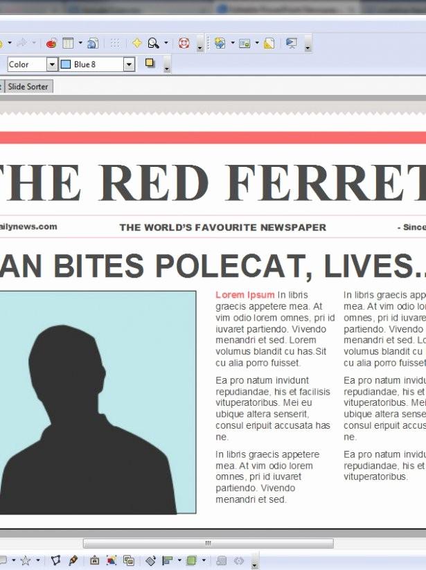 Microsoft Word Newspaper Article Template Lovely Newspaper Article Template for Microsoft Word