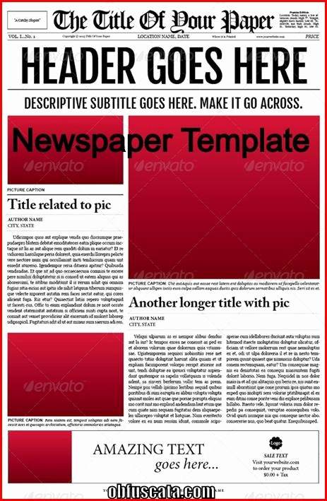 Microsoft Word Newspaper Article Template Luxury Points to Note In A Newspaper Template