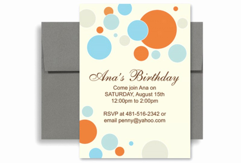 Microsoft Word Party Invitation Templates Awesome Birthday Invitation Template Word Free – orderecigsjuicefo