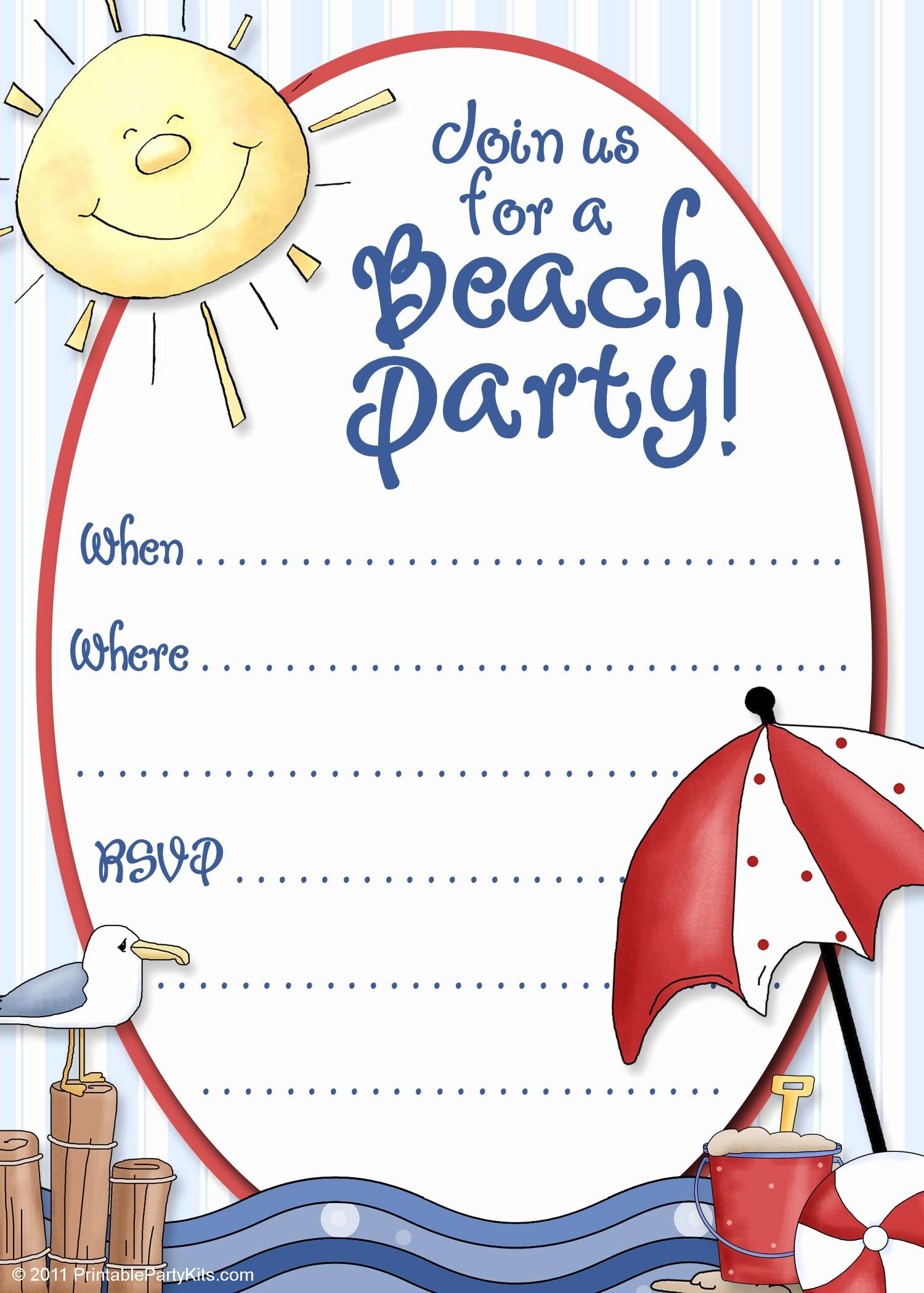 Microsoft Word Party Invitation Templates Awesome Free Party Invitation Template Party Invitation