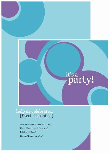 Microsoft Word Party Invitation Templates Best Of Free Word Pool Party Invitation – orderecigsjuicefo
