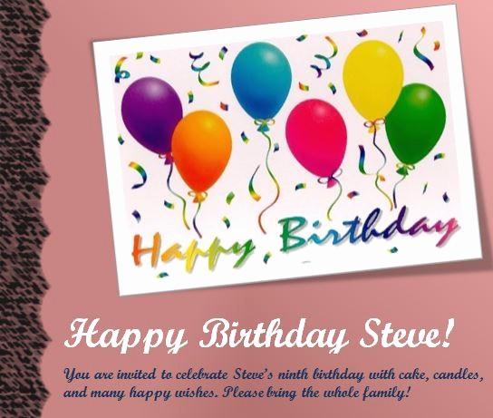 Microsoft Word Party Invitation Templates Elegant 17 Free Birthday Templates for Word Free Birthday