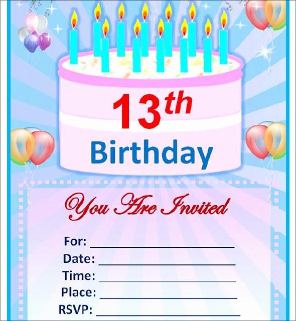 Microsoft Word Party Invitation Templates New Sample Birthday Invitation Template 40 Documents In Pdf