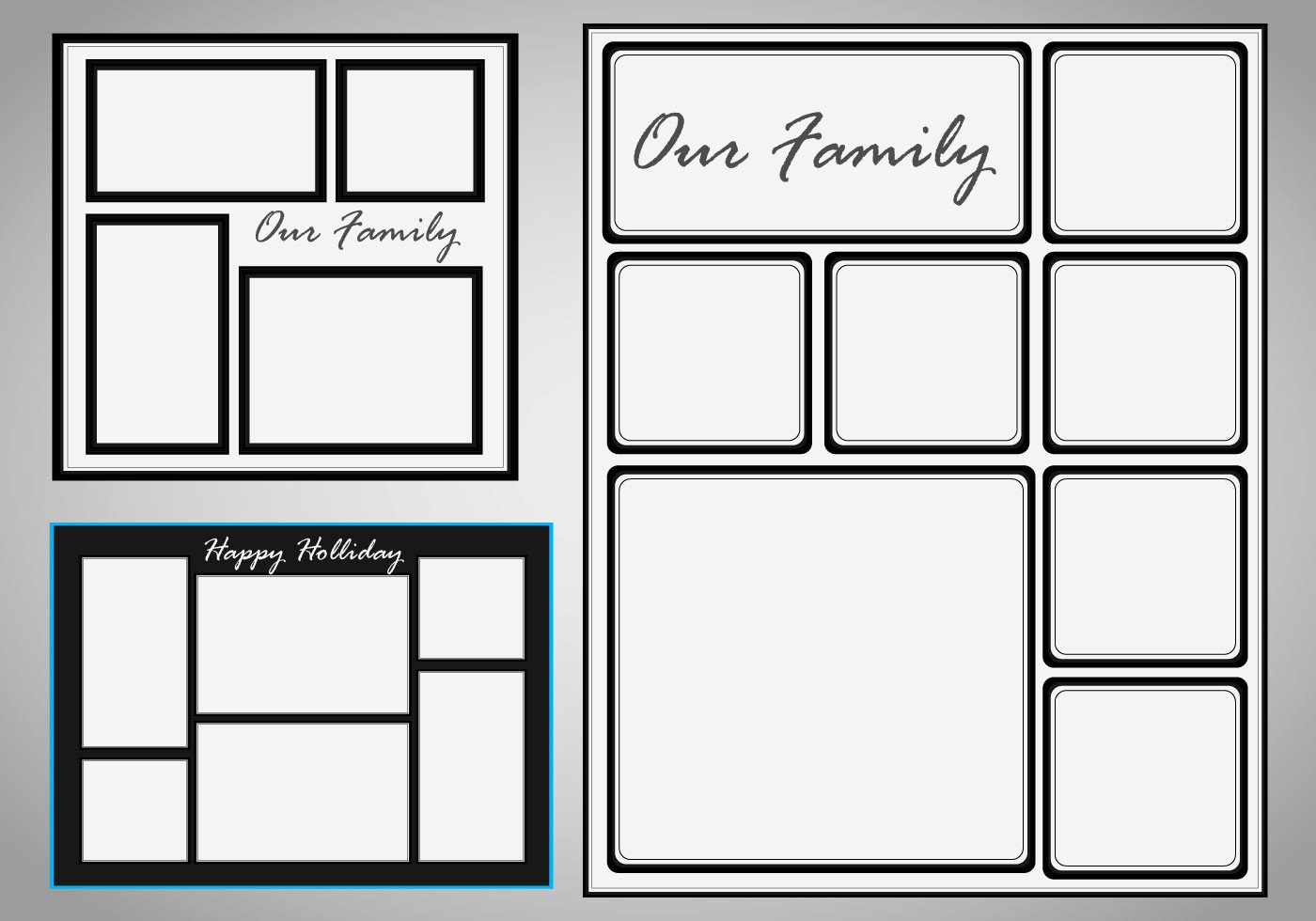 "Microsoft Word Photo Collage Template Beautiful Search Results for ""christmas Border Template Free to"