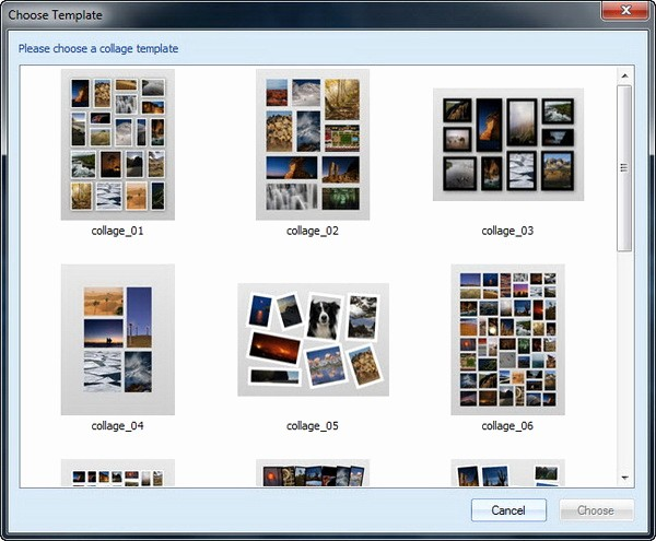 Microsoft Word Photo Collage Template Elegant Free Collage Template for Microsoft