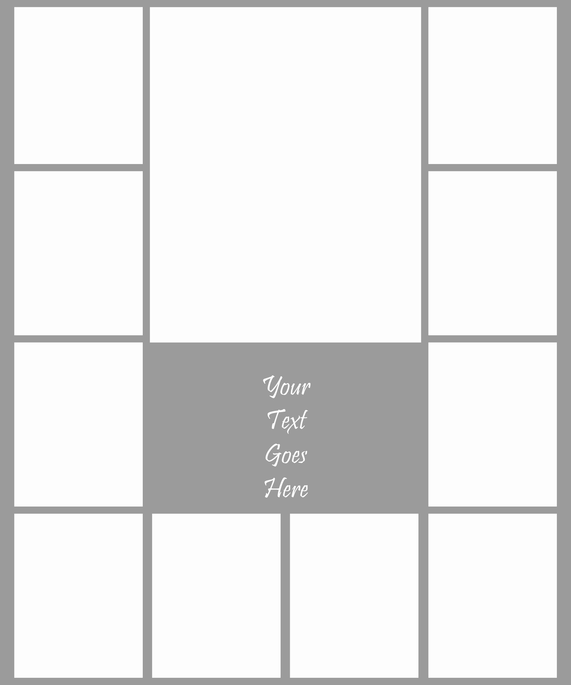 Microsoft Word Photo Collage Template New Collage Template 2