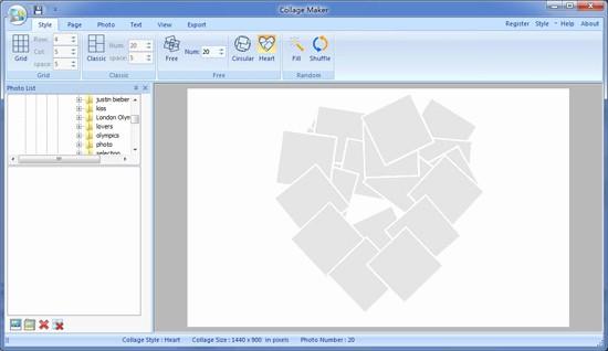 Microsoft Word Photo Collage Template Unique Best S Of Heart Shaped Collage Template Heart