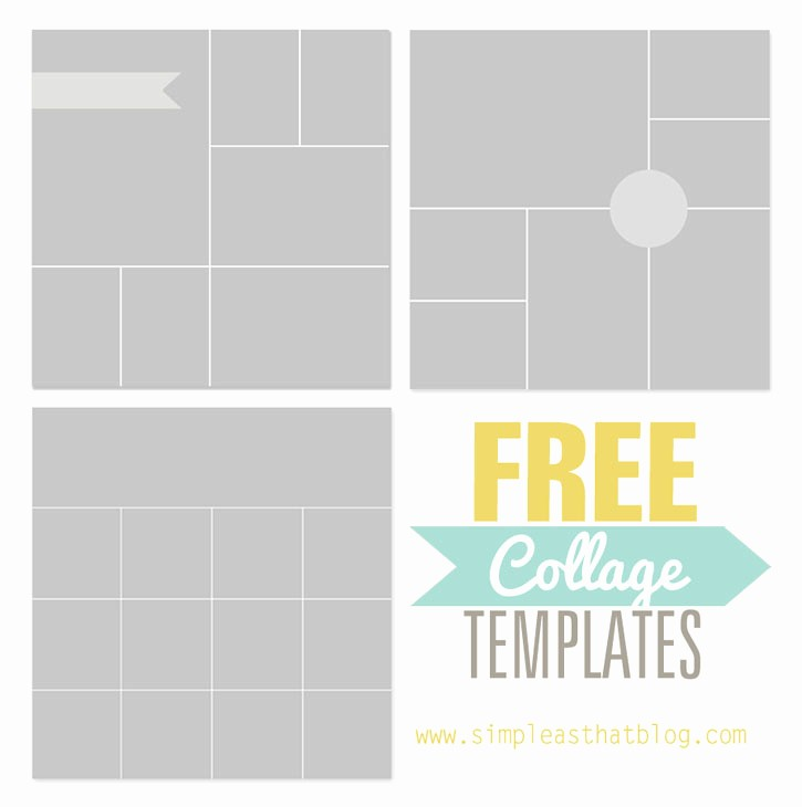 Microsoft Word Photo Collage Template Unique Free Collage Templates From Simple as that