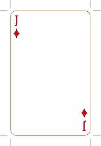 Microsoft Word Playing Card Template New Playing Card Template