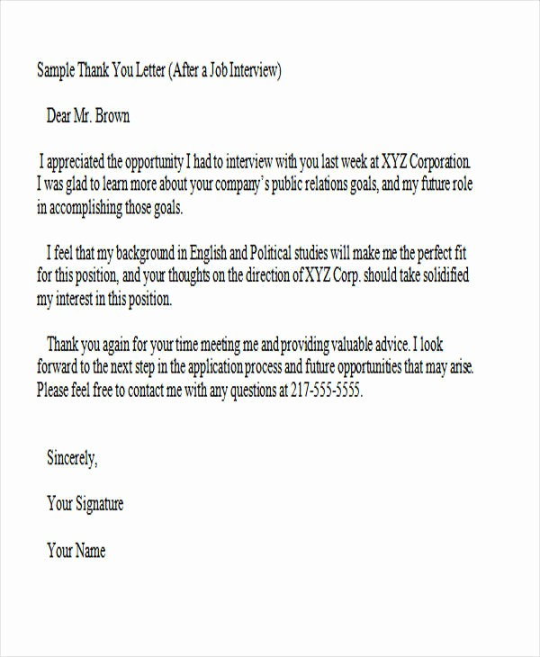 Microsoft Word Professional Letter Template Beautiful 37 Thank You Letter In Word Templates