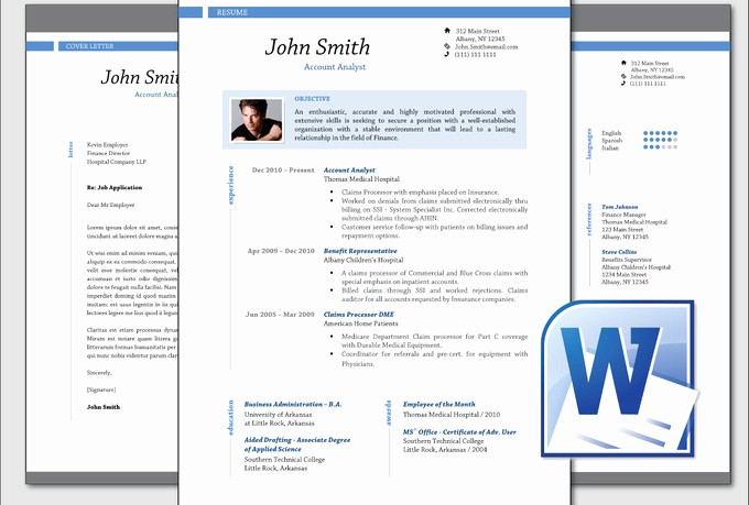 Microsoft Word Professional Resume Template Lovely Tripssokol Blog