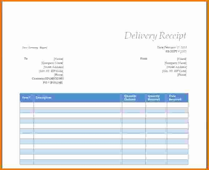 Microsoft Word Receipt Template Free Luxury 6 Microsoft Word Receipt Template