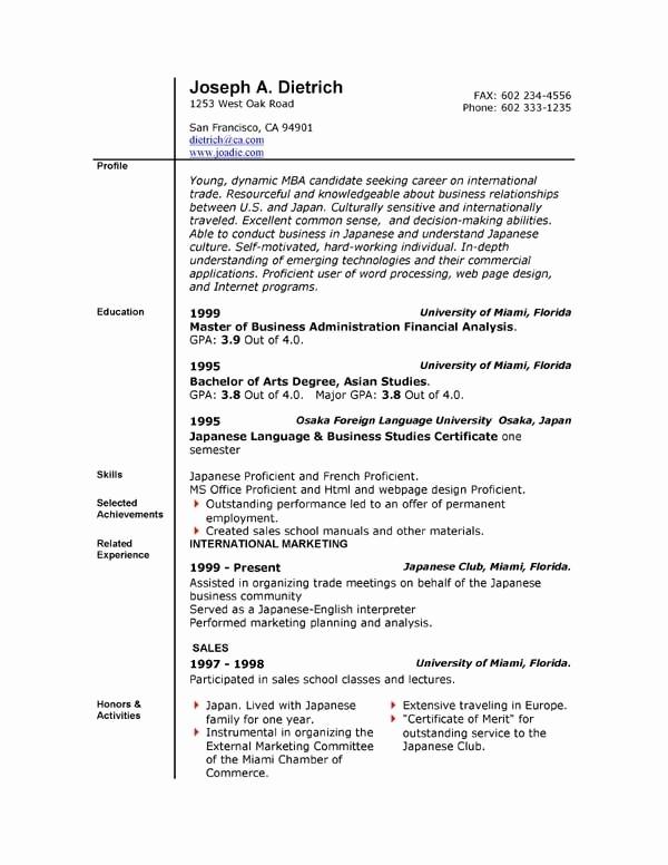 Microsoft Word Resume Template 2017 Lovely Resume Template Microsoft Word Beepmunk