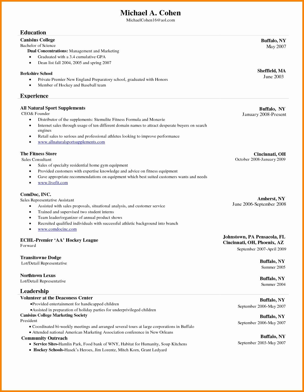 Microsoft Word Resume Template 2017 Unique Resume Template Microsoft Word 2017