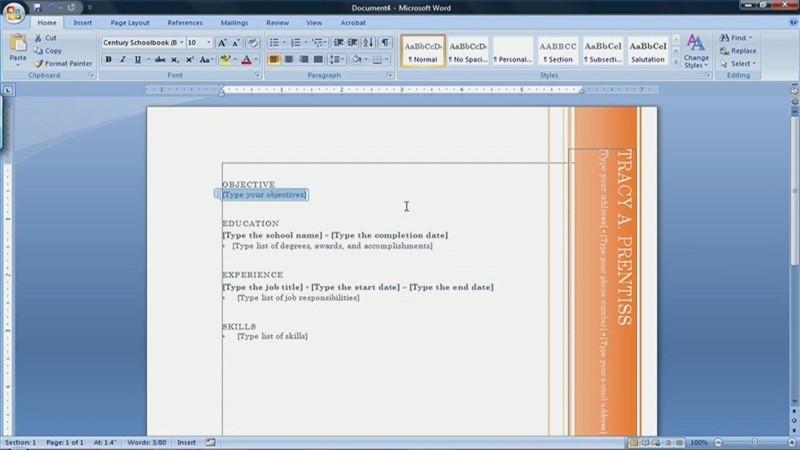 Microsoft Word Resume Templates 2007 Beautiful Resume Templates Microsoft Word 2007 How to Find