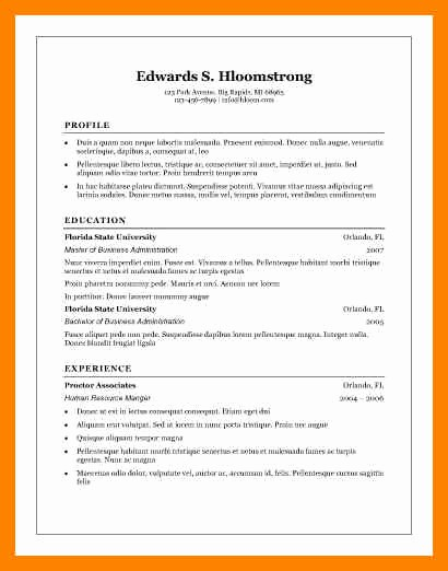 Microsoft Word Resume Templates 2007 Elegant 8 Free Cv Templates Microsoft Word 2007