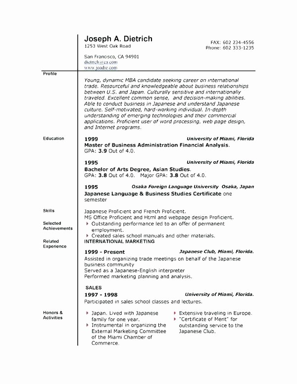Microsoft Word Resume Templates 2014 Awesome Free Resume Templates Microsoft Word 2014 Anekantafo