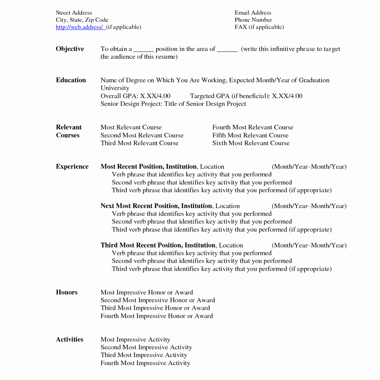 microsoft word resume template 2015 microsoft word resume template 4