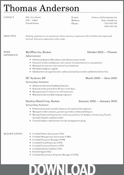 Microsoft Word Resume Templates 2014 Luxury Microsoft Fice Resume Templates Free Medical assistant