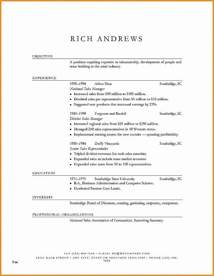 Microsoft Word Resume Templates 2014 Unique Microsoft Word Resume Template 2014 Resume Template 2014