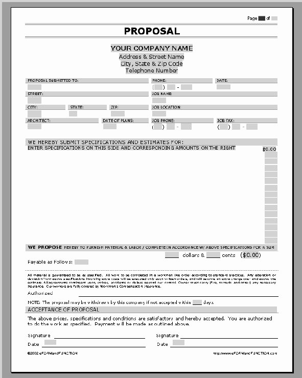Microsoft Word Sales Proposal Template Beautiful Business Proposal Templates Examples