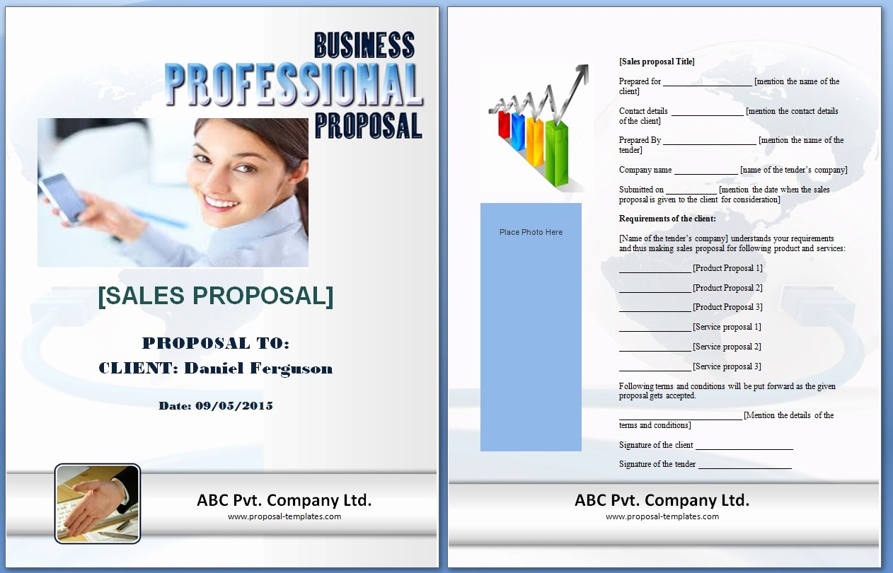 Microsoft Word Sales Proposal Template Best Of Sales Proposal Template Word Excel formats