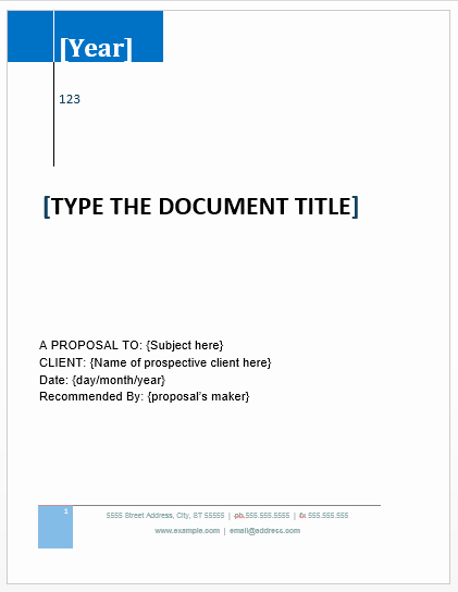 Microsoft Word Sales Proposal Template Fresh Proposal Templates Archives Microsoft Word Templates