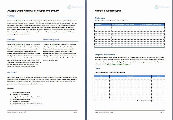 Microsoft Word Sales Proposal Template Unique Business Proposal Template