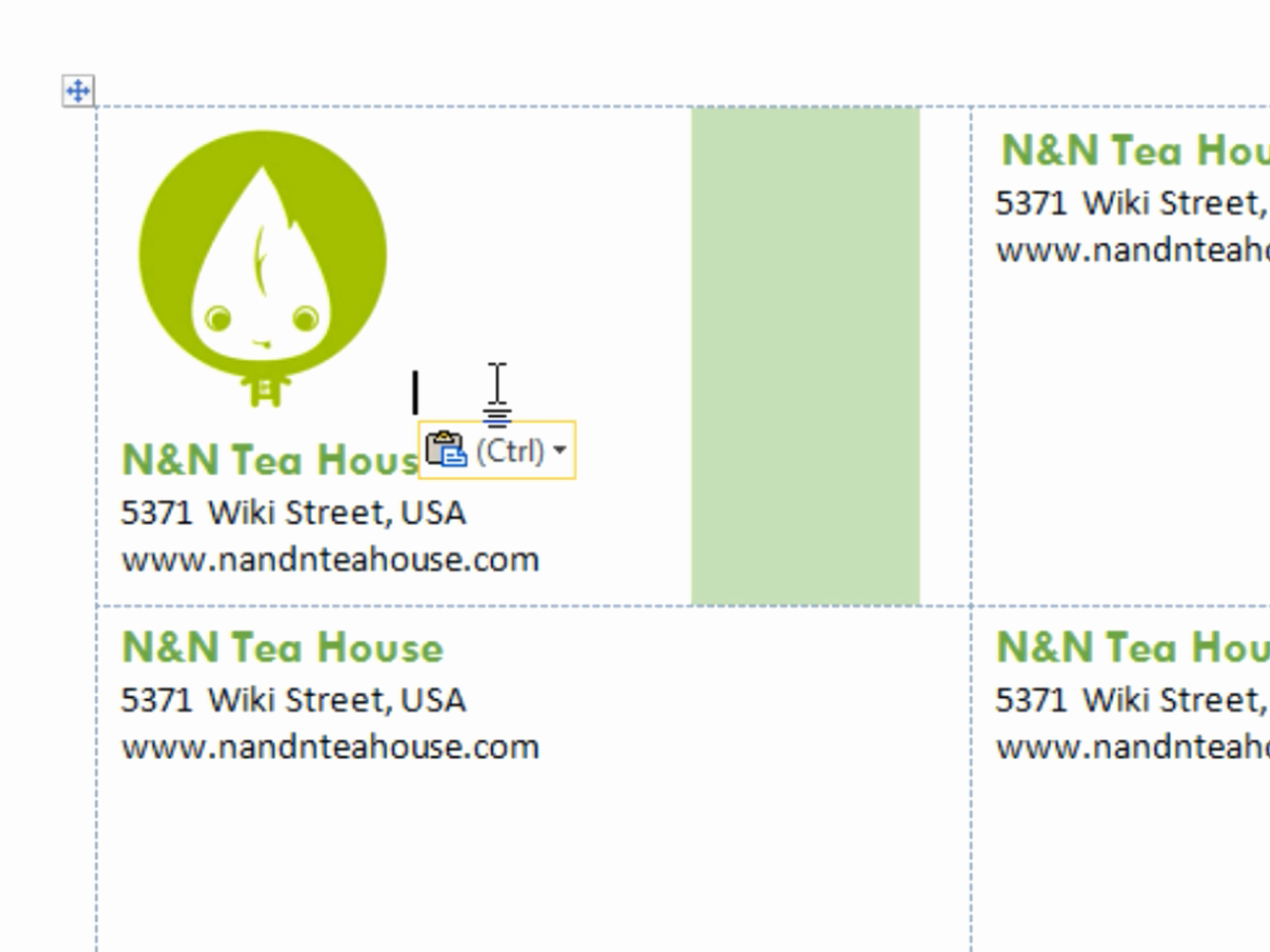 Microsoft Word Template Business Cards Lovely Business Cards Templates Free for Word