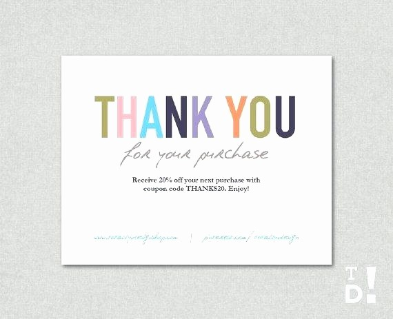 Microsoft Word Template Business Cards Lovely Thank You Note Card Template for Your Business Cards