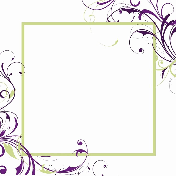 Microsoft Word Template for Invitations Best Of Free Printable Blank Invitations Templates
