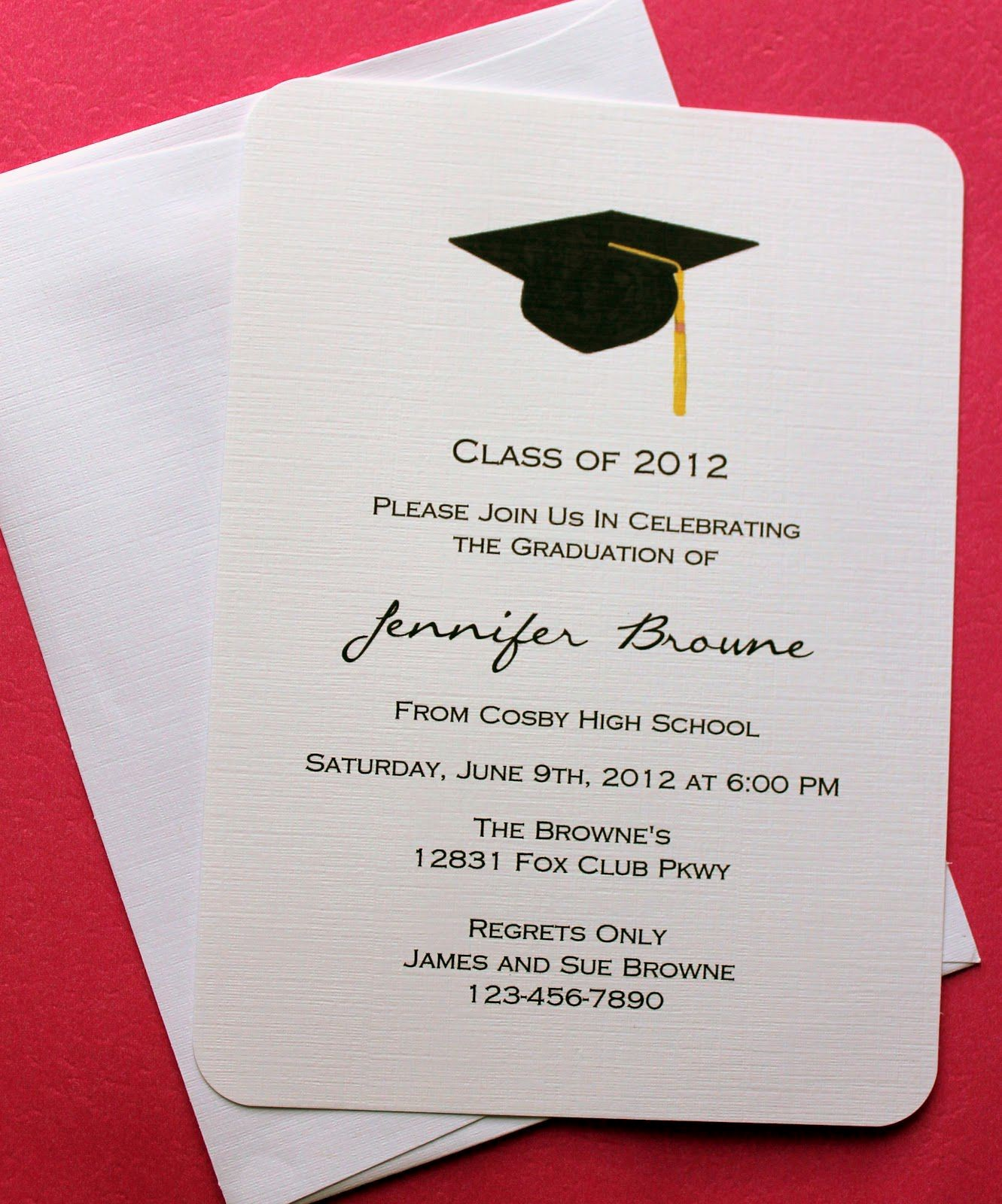 Microsoft Word Template for Invitations Lovely Graduation Invitation Template Graduation Invitation