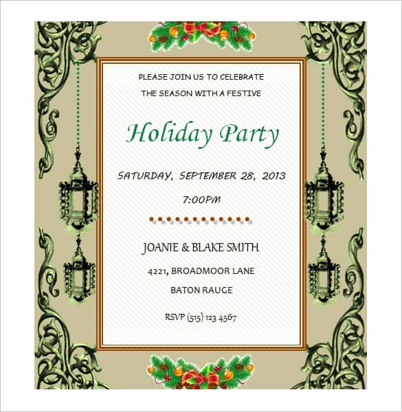 Microsoft Word Template for Invitations Luxury 69 Microsoft Invitation Templates Word