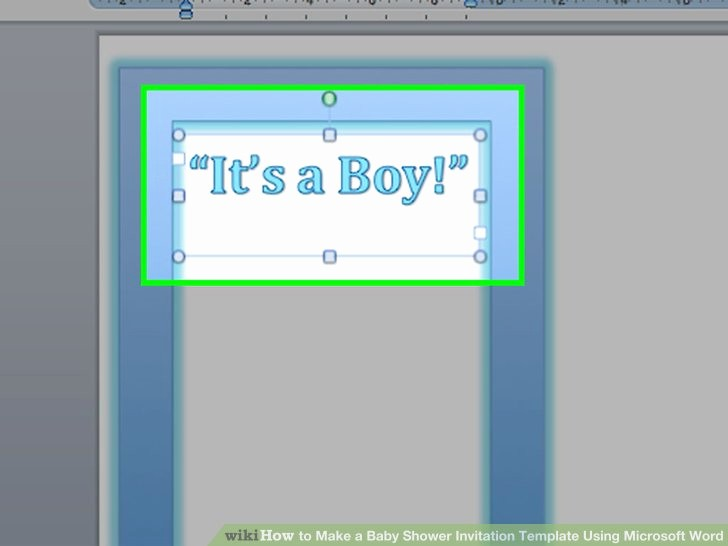 Microsoft Word Template for Invitations Unique How to Make A Baby Shower Invitation Template Using