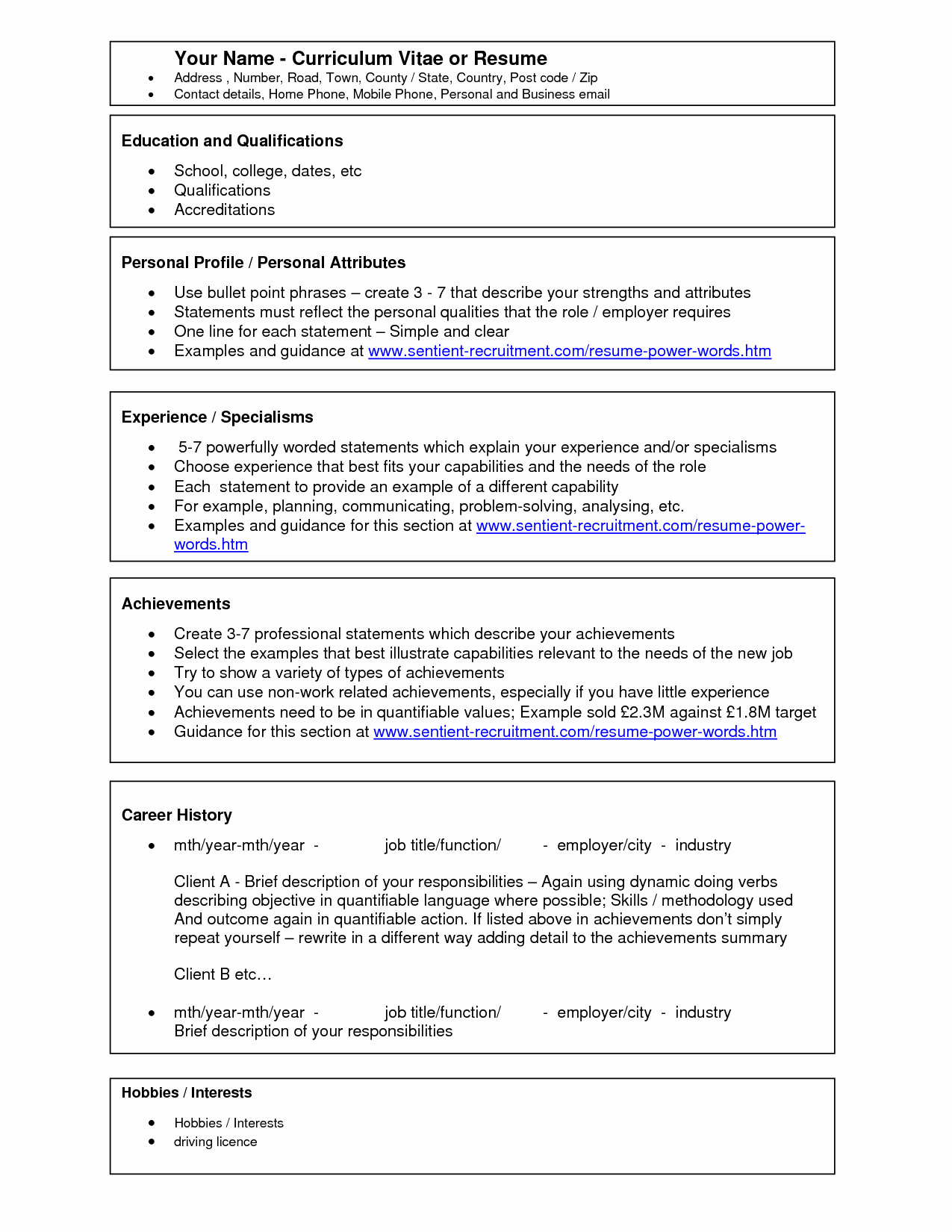 Microsoft Word Template for Resume Unique Pic Scope Of Work Template