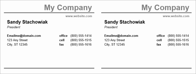 Microsoft Word Templates Business Cards Best Of How to Make Free Business Cards In Microsoft Word with