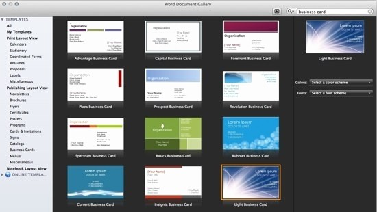 Microsoft Word Templates Business Cards Elegant Business Card Template Microsoft Word Beepmunk