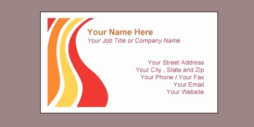 Microsoft Word Templates Business Cards Unique Download Free Business Card Template Microsoft Word