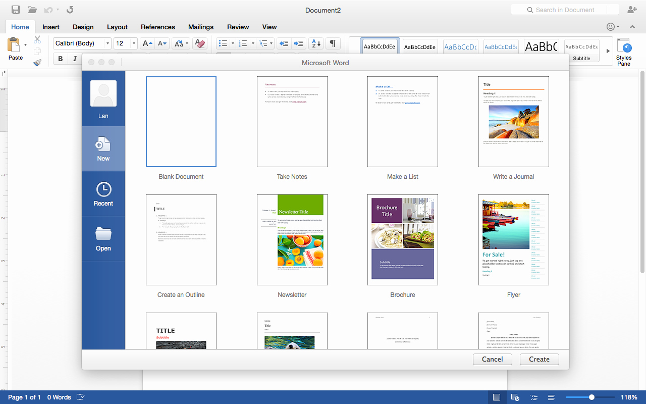 Microsoft Word Templates for Mac Awesome First Look Fice 2016 Preview for Mac