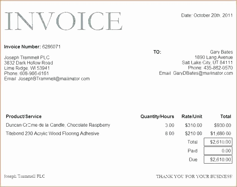 Microsoft Word Templates for Mac Luxury Word Invoice Templates – iso Certification