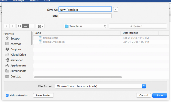Microsoft Word Templates for Mac New How to Create Templates In Microsoft Word for Mac Apple