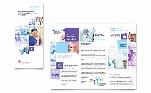 Microsoft Word Tri Fold Template Elegant Medical & Health Care Tri Fold Brochure Templates Word